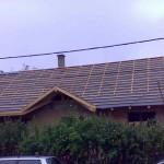 Új tető készítése
