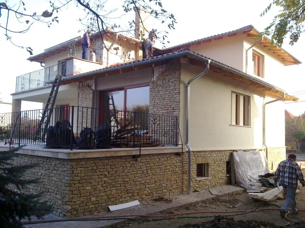 Családi ház hamarosan kész