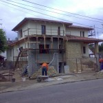 Családi ház készülőben